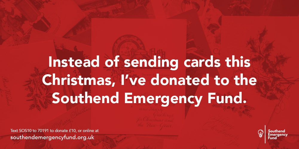 Send ecards fro Southend Emergency Fund